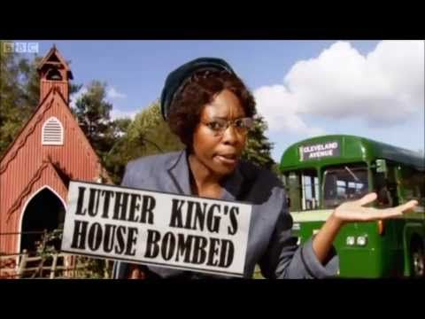 Great Horrible Histories song that tells Rosa Parks' story.  Horrible Histories Rosa Parks - YouTube