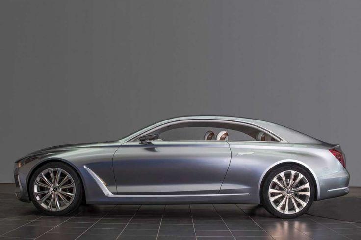 Hyundai Vision G, cupê conceito que pode dar origem a nova geração do sedã Genesis, é apresentado no... - Redação / Fotos: Divulgação