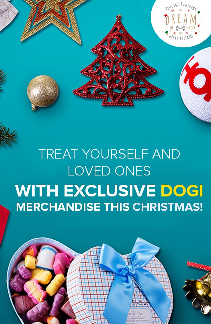 Treat yourself & loved ones with the exclusive DOGI merchandise. Shop Now: http://bit.ly/1RghS5W