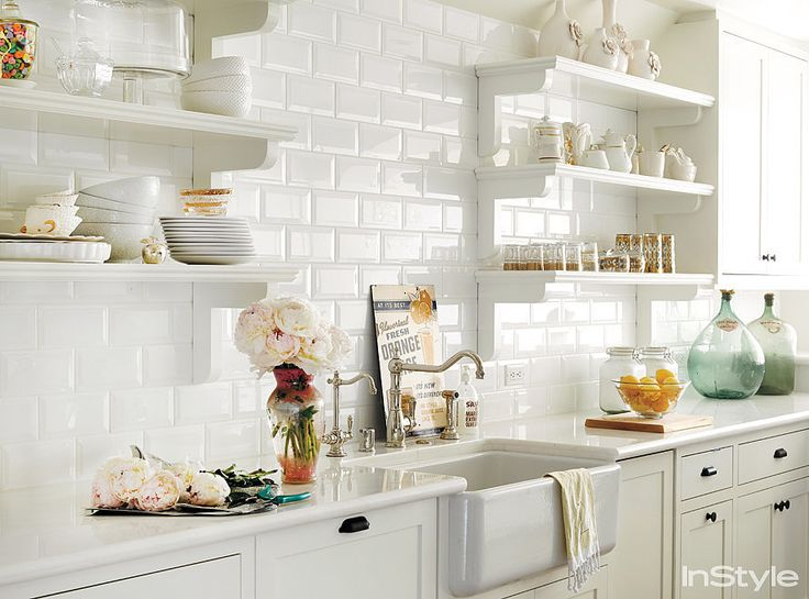 31 best Kitchen Open Shelving Ideas images on Pinterest Kitchen - open kitchen shelving ideas