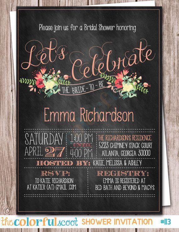 Love this bridal shower invitation!