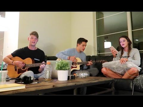 WE DID AN ACOUSTIC COVER TOGETHER!! - YouTube