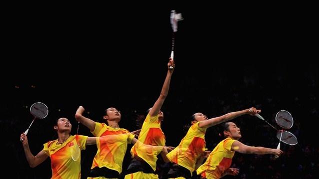 Yihan Wang of China beats India's Nehwal to go into the final of the women's Badminton