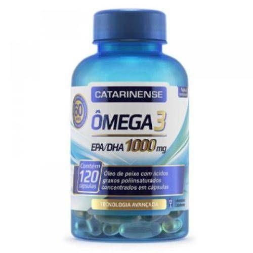 Foto 1 - Omega 3 - 120 CAPSULAS - Catarinense