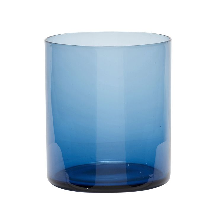 Blue tealight glass. Product number: 480104 - Designed by Hübsch