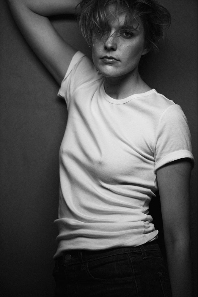 Peter Lindbergh | Greta Gerwig, W Magazine, The Movie Issue, February 2016, Best Performances | Edward Enninful, Odile Gilbert, Stéphane Marais