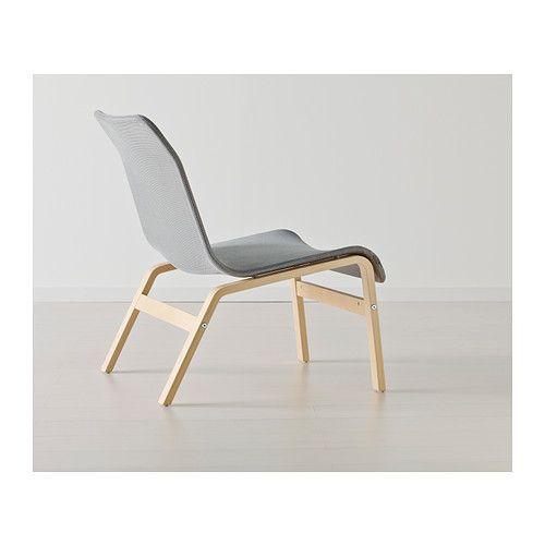 Nolmyra Chair Birch Veneer Gray Gray Armchairs And Chairs