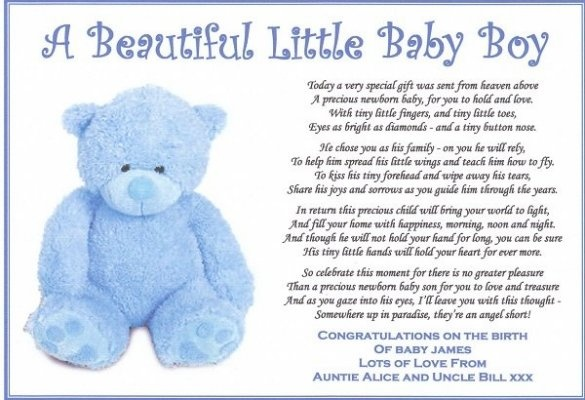 baby boy poems - photo #18