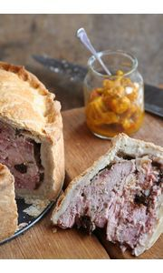 Here's a proper tummy filler! Raised Pork & Pheasant Pie courtesy of Stephen Jackson. Click on the link below for ingredients and recipe