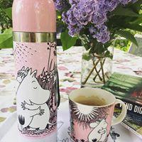 Mumintermos och Muminmugg Rosa Lova från www.lillastork.se