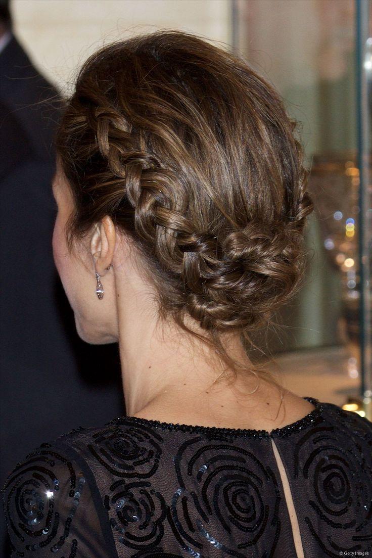 La corona de trenzas más elegante de la Reina Letizia.
