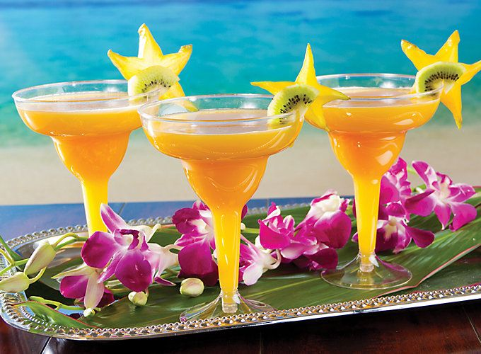Relax with simple recipes for Hawaiian cocktails and drink fusions