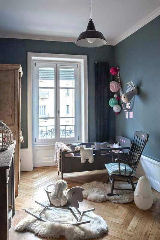 Enchanting and sweet little room   10 Sweet Girls Nurseries - Tinyme Blog