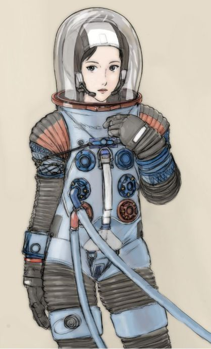 宇宙服   タキオン管理区域