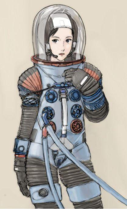 宇宙服 | タキオン管理区域