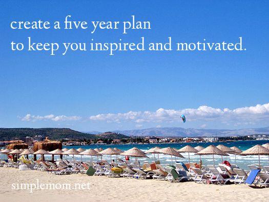 SimpleMom 5 year plan