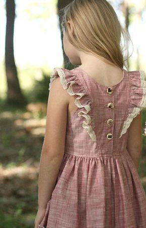 Vintage Style Handmade Dress | WildCottonHandmade on Etsy