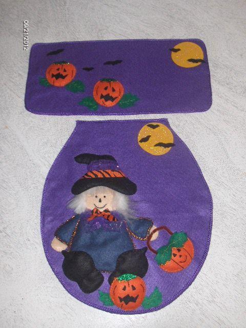 Juegos De Baño Gabys:Halloween felt dress for the bathroom
