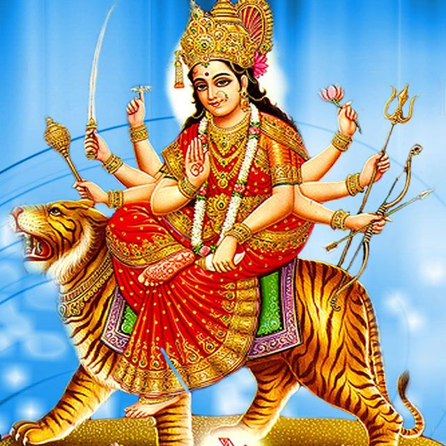 Chaitra Navratri is an auspicious hindu festival; which is celebrated over nine days and dedicated to nine powers of nine different forms of Goddess Maa Durga.