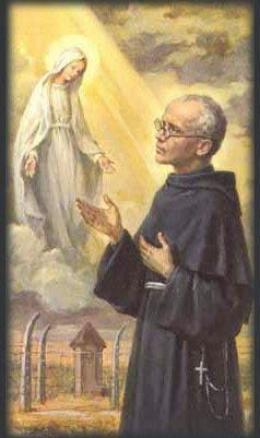 Profecías y  sus Profetas: San Maximiliano Kolbe - Mártir - Año 1941