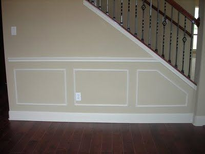Picture Frame Moulding On Walls wall frame molding angle | decorating ideas | pinterest | moldings