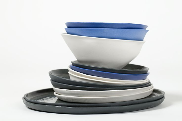 Mad Harriet (Dale Frances) Ceramics. The creation of WA artist Dale Frances, Mad Harriet ceramics are fun, functional and above all beautiful. Her Organic series of plates, beakers and bowls come in a range of colours. Photo: Bo Wong