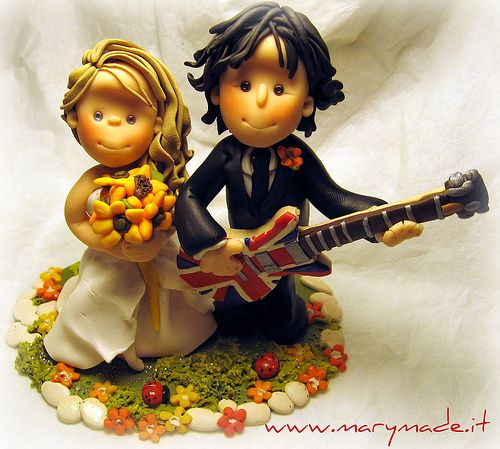 marymade.it cake toppers - un cake topper con lui chitarrista | cake-toppers-marymade | Pinterest | Cake toppers, Cake and Wedding cake toppers