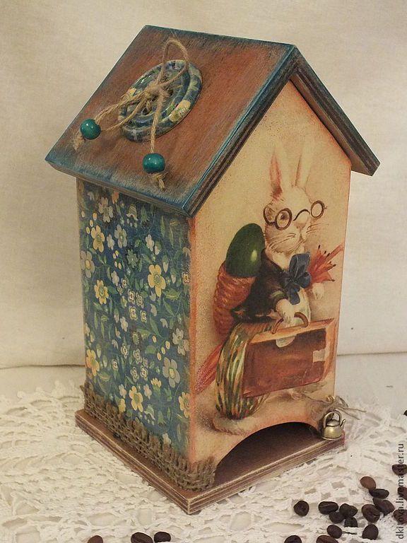Купить Про кролика... - кролик, Пасхальный кролик, чайный домик декупаж, заяц