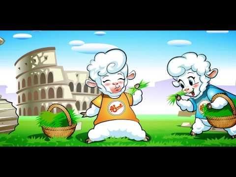 Le nostre tenere mascotte Biancaneve, Caprilla e Marzolina augurano a tutti voi una Pasqua felice e serena e una primavera finalmente verde, tiepida e assolata. E' il loro primo video, aiutateci a rendere famose!