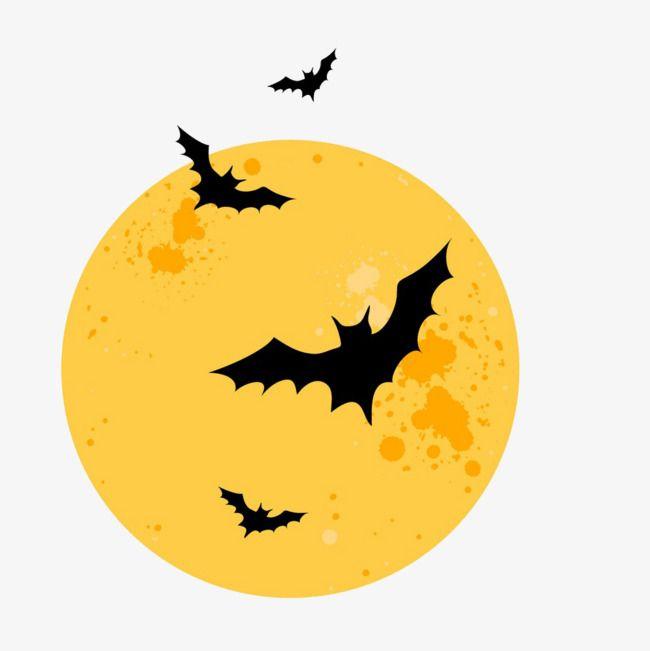 Halloween Full Moon Bat Border Png Images Psd Free Download Pikbest Halloween Full Moon Png Images Halloween Poster