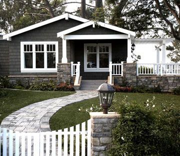 Ranch Style Home Ideas House Colors White Trim And Walkways