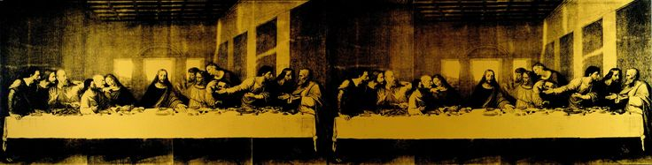 Andy Warhol - The Last Supper, 1986, acrylic and silkscreen ink on linen