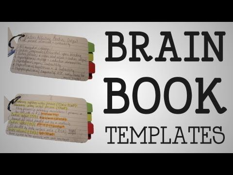 Working Nurse | Brain Book Templates - YouTube