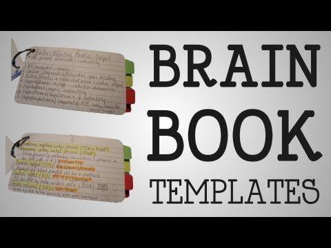 Working Nurse | Brain Book Templates - YouTube