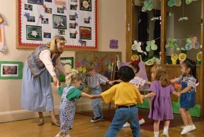 kindergarten PE games