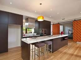 Modern Island Kitchen Design Using Floorboards   Kitchen Photo 318544