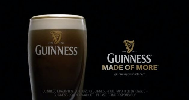 Guinness Promotes Through Dedication, Loyalty And Friendship