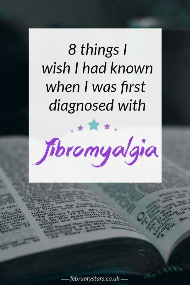 8 things I wish I had known when I was first diagnosed with fibromyalgia. Pin to save for later or click to read.