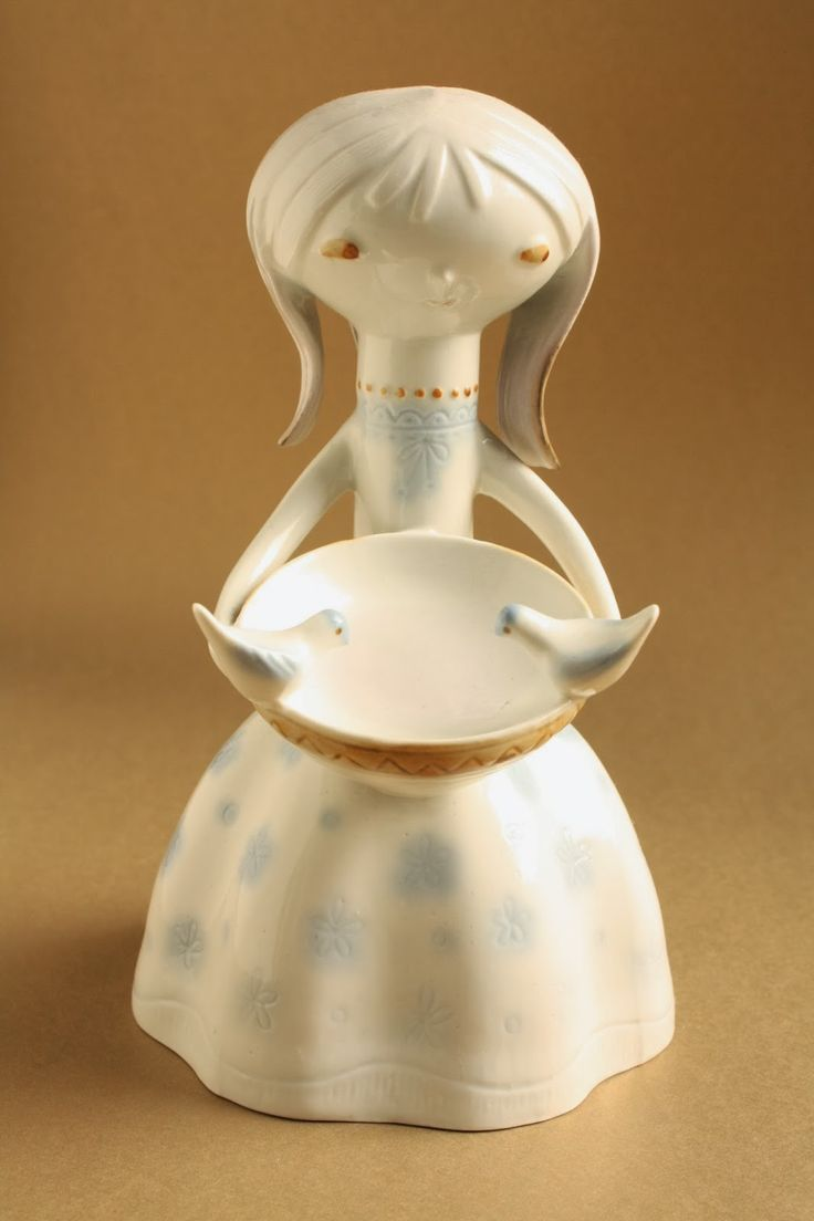 Hamupipőke - aquazur - Aquincum porcelán