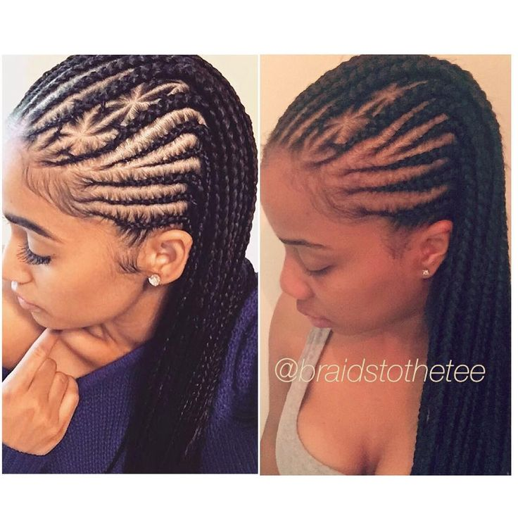 I was inspired by the style on the left, so I did them on myself what y'all think? #ttm #braidstothetee #braids #phillybraids #phillybraider