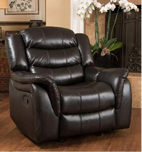 christopher knight home hawthorne pu leather glider recliner club chair overstock shopping big discounts on christopher knight home recliners