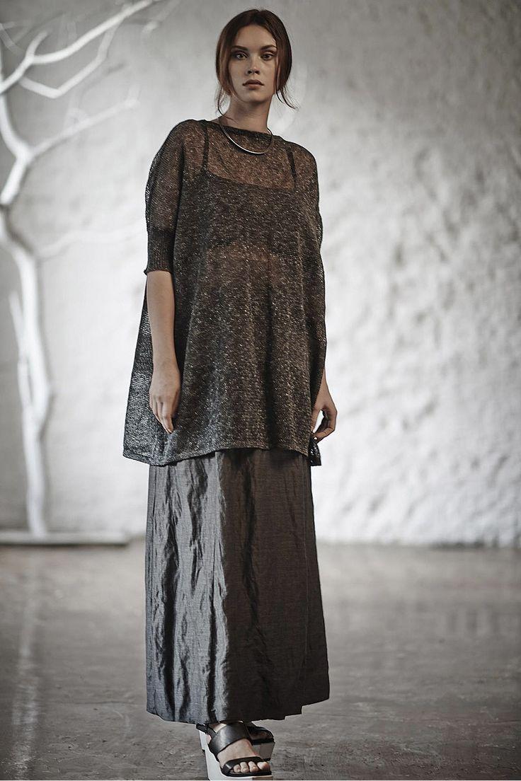 Купить Юбка БАЛЛОН жатка на подкладке от Lesel (Лесель) дизайнер одежды