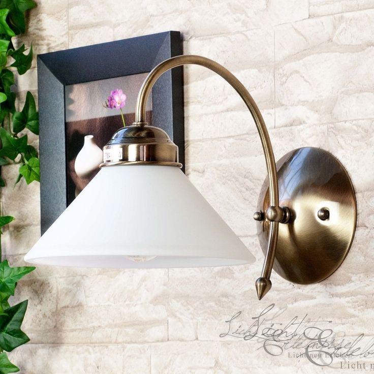 Edle Jugendstil Wandleuchte Wandlampe Lampe Leuchte Licht Wohnzimmer Leseecke