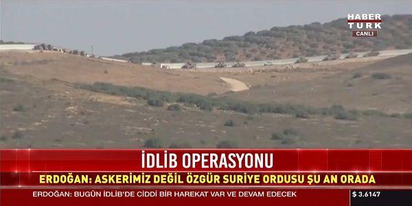 Ξεκίνησε η εισβολή 25.000 Τούρκων στην Συρία με ρωσική αεροπορική κάλυψη