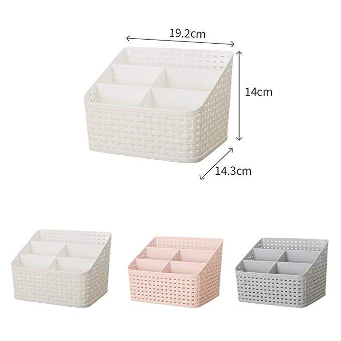 Kunststoffe Aufbewahrungsbox 5 Facher Fur Schreibtisch Kuche Schminktisch Badezimmer Make Up Organizer Amazon De Kuche Aufbewahrungsbox Box Aufbewahrung