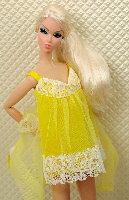 Vintage Barbie Pajama Set #3348 Robe and Nighty