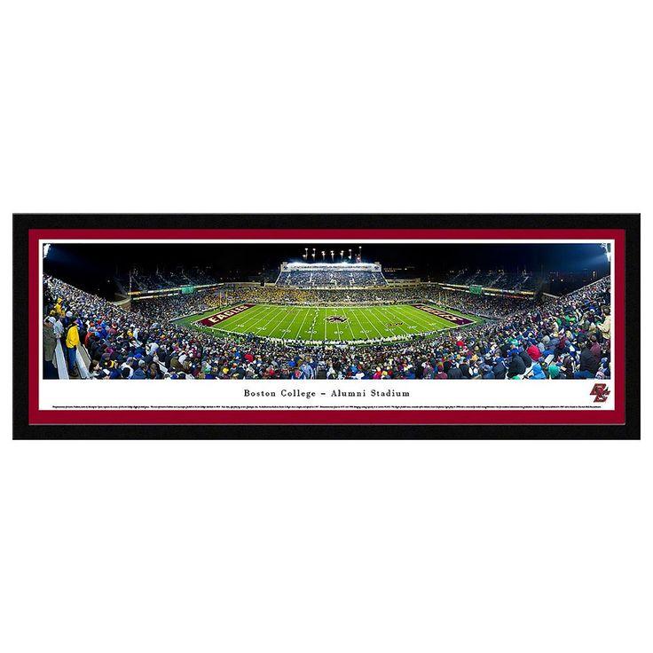 Boston College Eagles Stadium Framed Wall Art, Multicolor