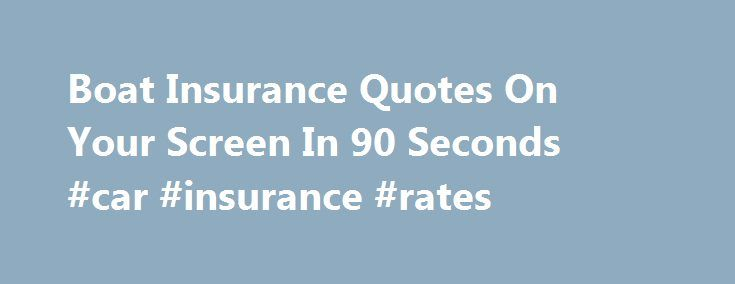 25 Great Ideas About Boat Insurance On Pinterest