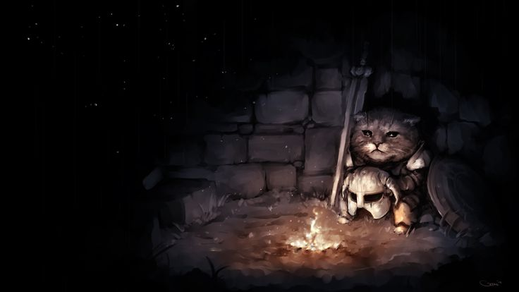 The saddest Khajiit by DarrenGeers.deviantart.com on @deviantART