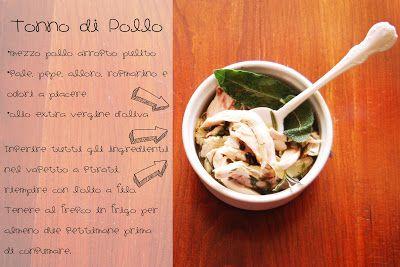 photo and food - tonno di pollo